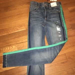 NWT Express Ankle Legging High Rise Jeans